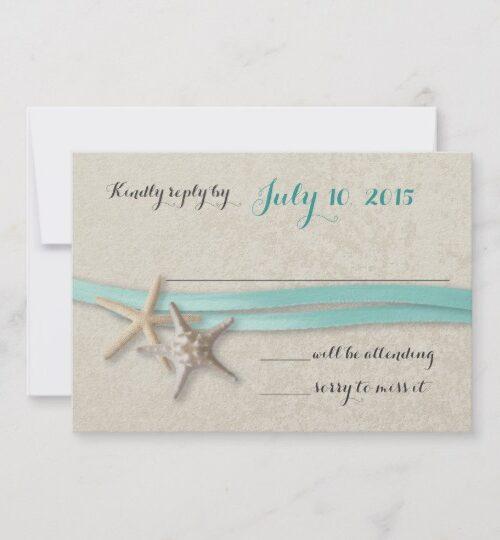 Starfish and Ribbon