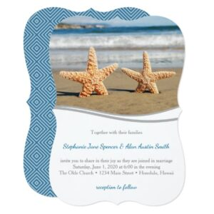 Starfish Couple Beach Wedding