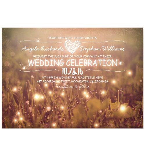 Whimsical Garden Lights Wedding Collection