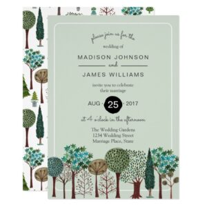 Invitations & Gifts | Woodland Rustic Tree