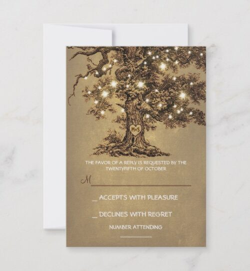 String Lights Oak Tree Rustic Collection