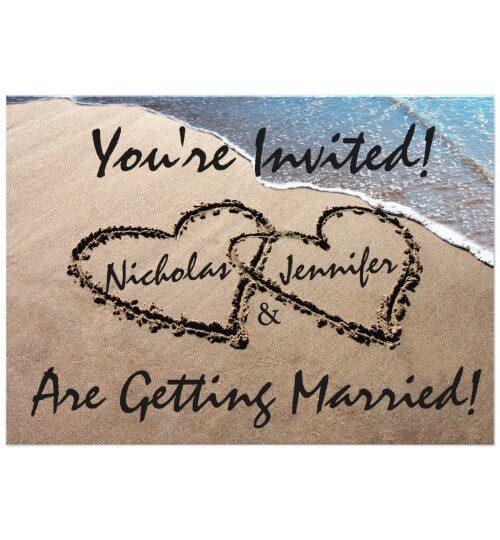 Beach Hearts/ Love/ Weddings
