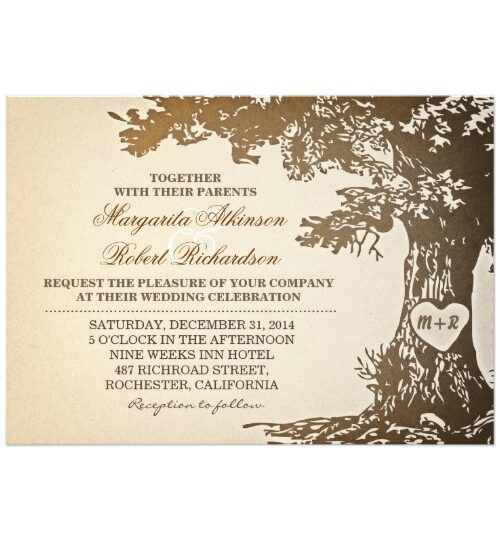 Illustrated Love Tree Wedding Collection