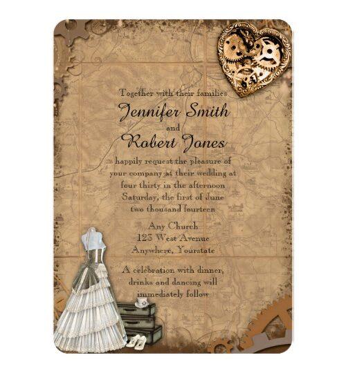 Vintage Steampunk Bride Wedding