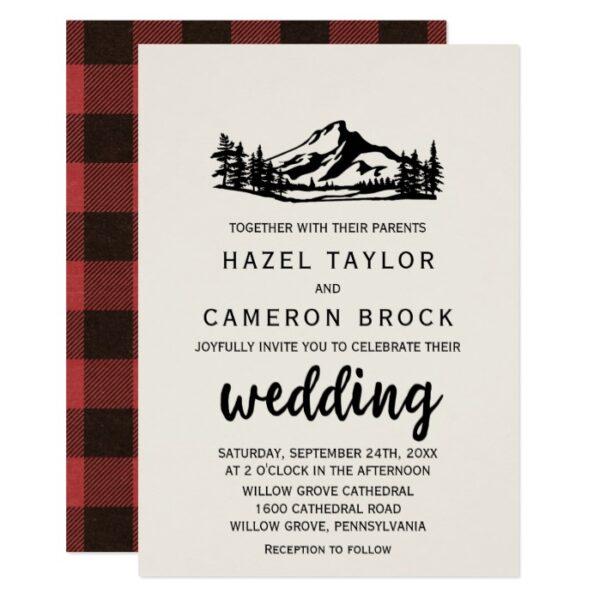 Vintage Wilderness Wedding Invitation Collection