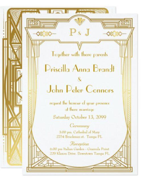 Wedding invitation_Mariage DECO