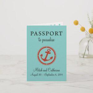 0 Cruise Wedding Passports Invitations