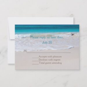 White Beach Wedding Set