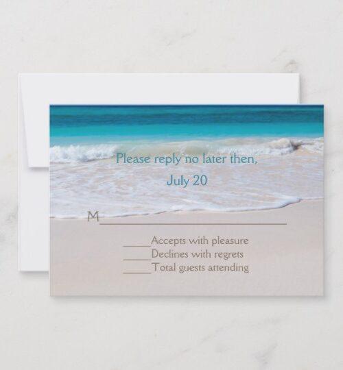 White Beach Wedding Set