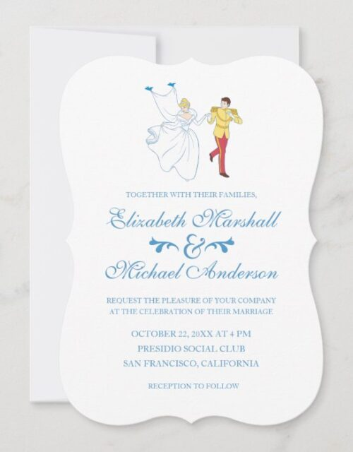 Cinderella Wedding | Cinderella & Prince Charming Invitation